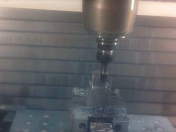Mecanizado 5 ejes de horquilla
